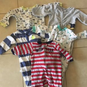 Boy pajama onesie set